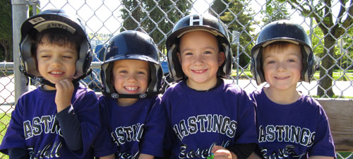 Hastings Little League - 4 kids